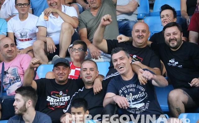 HŠK Zrinjski: Pogledajte kako je bilo na tribinama Pecare na utakmici protiv Ludogoretsa