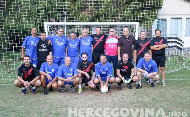 Revijalna nogometna utakmica: Mostarska HVIDR-a bolja od selekcije novinara