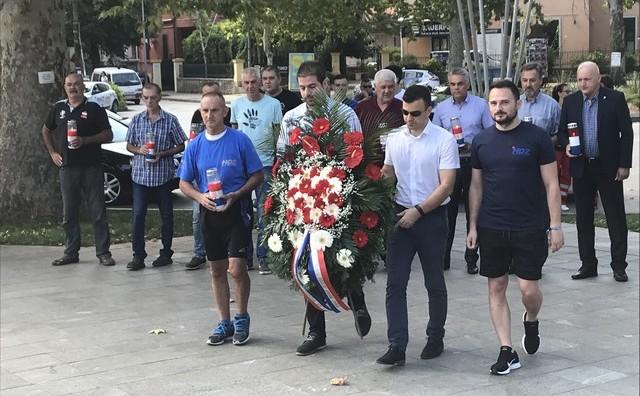 Aco Golo započeo ultramaraton od Mostara do Knina povodom 23. obljetnice Vojno-redarstvene operacije Oluja