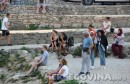 turisti u starom gradu