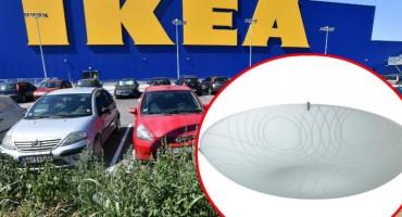IKEA povlači seriju stropnih lampi, pozivaju kupce da ih vrate