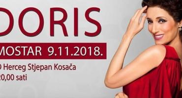 Mostar: Rasprodane ulaznice za koncert glazbene dive Doris Dragović
