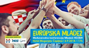 "Međunarodna konferencija Mladeži HDZ-a BiH ""Europska Mladež"""