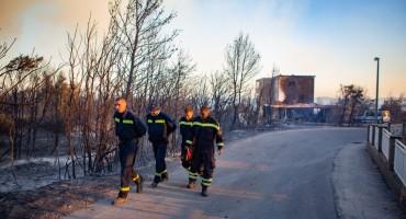 Župnik o čudu u Orebiću: 'Vatra je došla do dvije kapele, ali ih se nije dotakla'