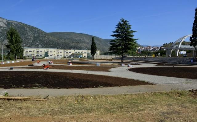 Mostar dobija još jedan park, u tijeku izrada zelenih površina