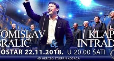 Mostar: Veliki koncert Tomislav Bralić & Klapa Intrade