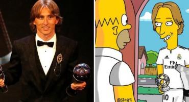 Homerov prijatelj: Luka Modrić u Simpsonima