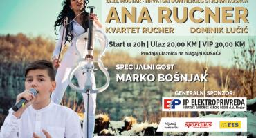 U prodaji ulaznice za koncert Ane Rucner u Mostaru