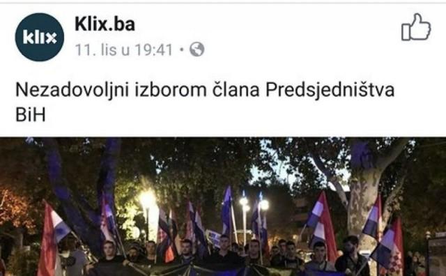 Bubnjar Dine Merlina o prosvjedu Hrvata u Mostaru: Ma tenk poslati i opleti