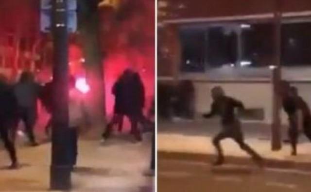 Krvavi obračun u Parizu: Žestoka tučnjava Delija i Francuza, srpski navijač teško ozlijeđen