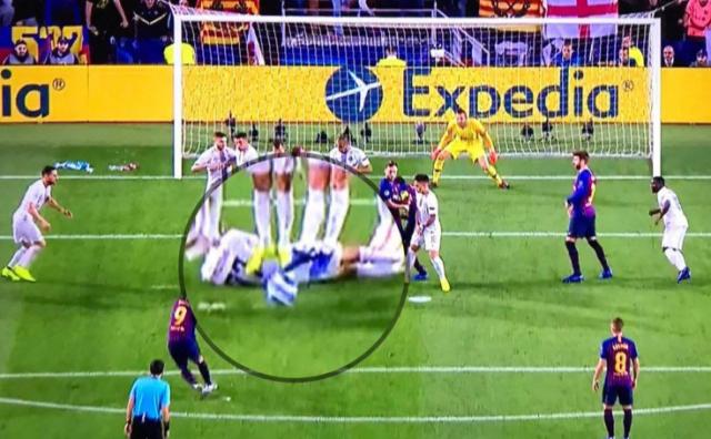 Kako je Brozović zaustavio slobodnjak Barcelone!
