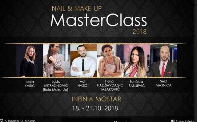 Infinia MASTER CLASS 2018 – Spoj ljepote i glamura u Mostaru