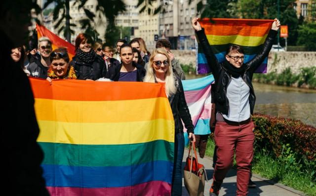 Dva prosvjeda protiv LGBT parade u Sarajevu