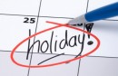 U ponedjeljak 26. studenog neradni dan