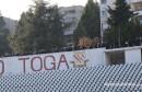 Jači od zabrana: Ultrasi bodrili Zrinjski s platoa iznad stadiona