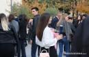 FPMOZ: Pogledajte kako je bilo danas nakon svečane promocije diplomiranih studenata ispred Kosače