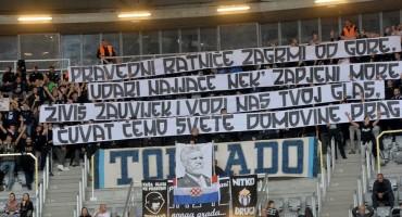 Tornado Zadar prisjetio se generala Praljka: Istaknuli njegovu sliku na utakmici i poslali poruku