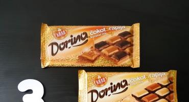 Nove Dorina čokoterapije 3u1 - karamel mix i čoko mix