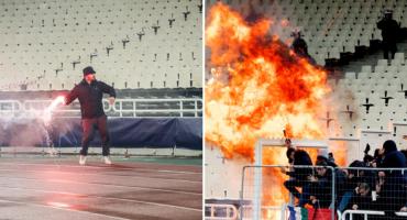 Strava i užas na stadionu AEK-a