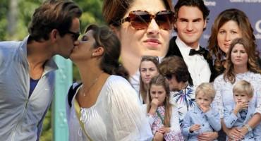 Tenisač Roger Federer ne krije koliko je zaljubljen u suprugu Mirku