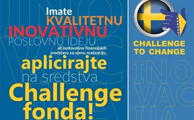 Info dan na kojem će biti predstavljen treći javni poziv Challenge programa
