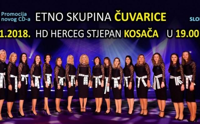 Etno skupina 'Čuvarice' promovira novi album u Mostaru