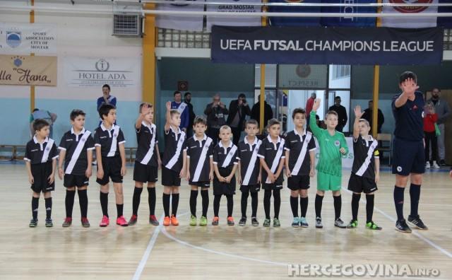 Futsal akademija Zrinjskog minimalno slavila protiv Futsal akademije Mostar SG