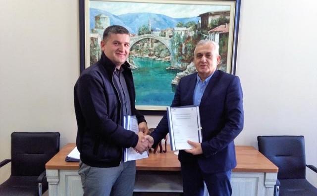 Kroz projekt Interreg - IPA CBC IRENE Grad Mostar mijenja dio postojećeg sustava javne rasvjete