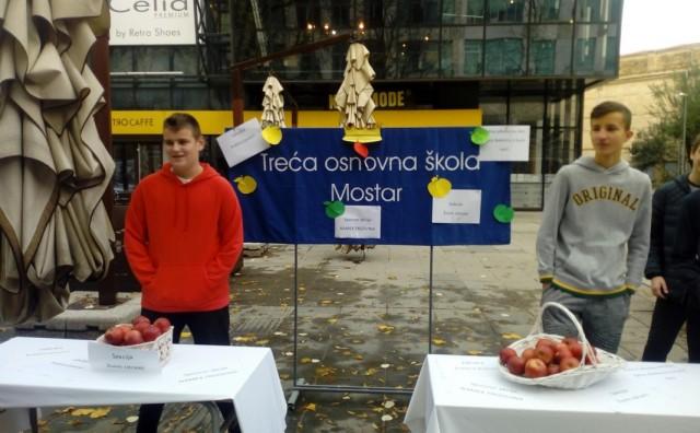 Mostar: Promocija zdravog načina života pod nazivom  Jabuka, kraljica jeseni!