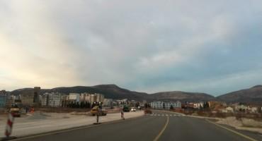 Mostar: Od jučer krenulo asfaltiranje druge trake mosta Avenija - Zalik