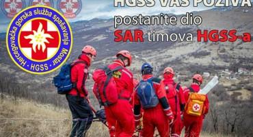 HGSS: Poziv na tečaj za SAR timove