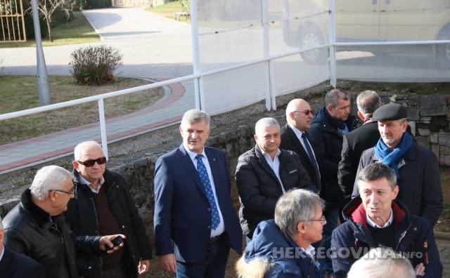Domjenak HŠK Zrinjski: Predsjednik Lasić se zahvalio svima, a posebno navijačima te najavio obranu titule prvaka