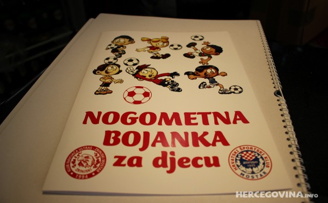 KN Ultras Zrinjski Mostar: Nogometna bojanka za djecu