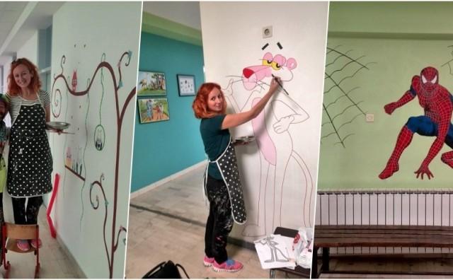 S 14 murala uljepšala Kliniku za dječje bolesti UKC-a Tuzla