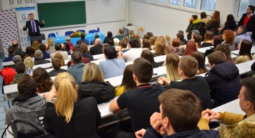 Održano predavanje prof. dr. Dragana Primorca na Sveučilištu u Mostaru