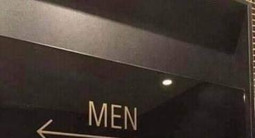 Ovaj natpis u javnom toaletu svi muškarci bi trebali vidjeti!