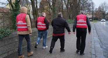 Bavarskim Ambergom patroliraju građani