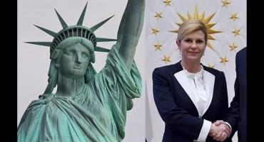 Predsjednica i rimska božica slobode
