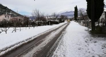 Pogledajte kako je snijeg zabijelio sjeverna naselja Mostara