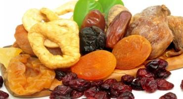 Vrlo ukusno, zdravo i dugotrajno - suho voće