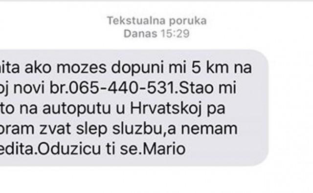 Ne nasjedajte na lažne SMS poruke koje kruže Hercegovinom