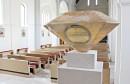 Enterijer crkve Presvetog Srca Isusova u Brčkom na izložbi najboljih projekata iz BiH u Grazu