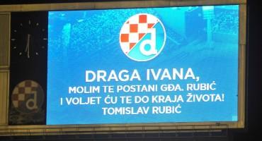 Tomislav šokirao djevojku pred cijelim stadionom, pogledajte što je Ivani poručio putem semafora..