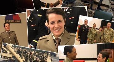 Dajana Dangubić iz Konjica završila obuku američke vojske za časnike