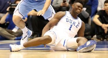 Budući prvi pick NBA drafta ozlijedio se u prvih 30 sekundi utakmice