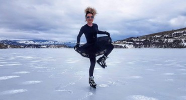 Hercegovka pokazala zavidnu hrabrost na zaleđenom jezeru
