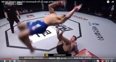 Brazilac Michel Pereira svojim potezima oduševio MMA svijet