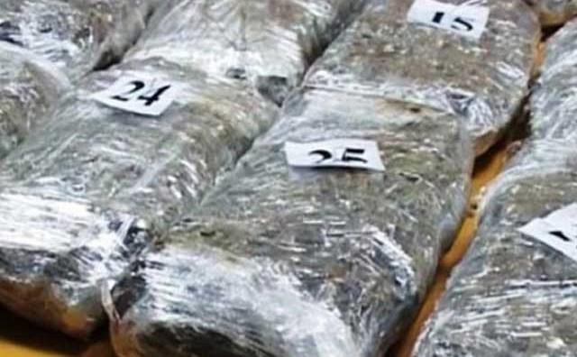 U automobilu sjeverno od Neuma na graničnom prijelazu pronađeno 60 kilograma marihuane