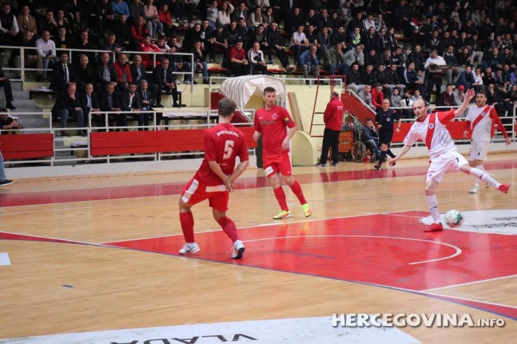 Prva utakmica finala Kupa BiH u futsalu: HFC Zrinjski - MNK Kaskada 2:0