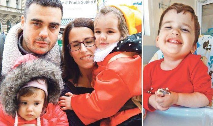 Slobodna Dalmacija: Pomozimo dvogodišnjoj Mili - za pet
